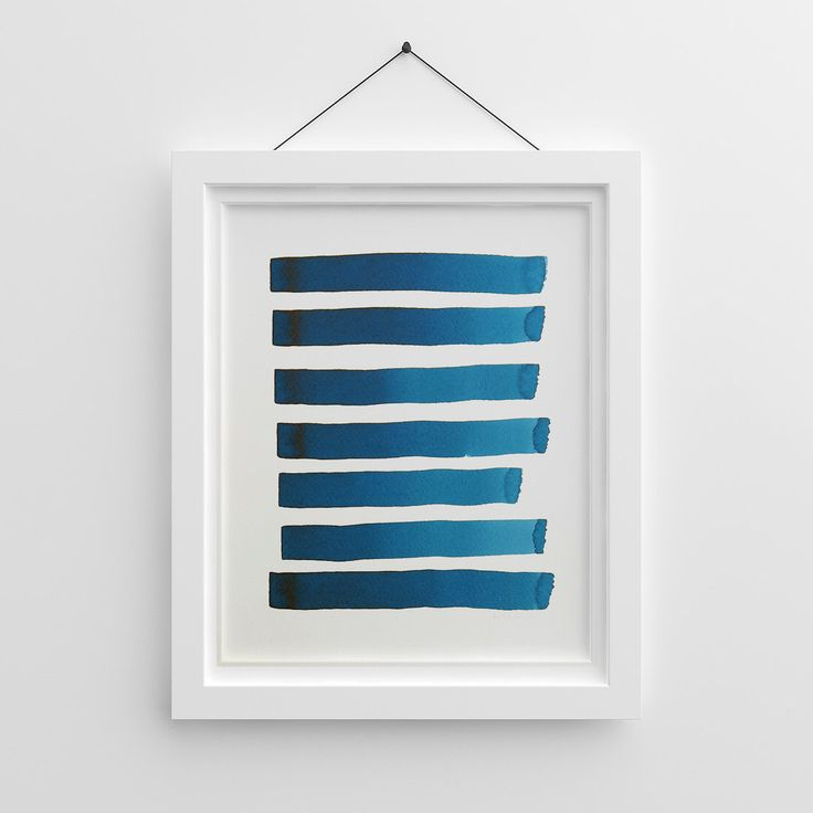 Minimalist Painting, Abstract Watercolor, Original Watercolor, Blue Watercolor, Abstract Artwork, Abstract Art, Abstract Blue, Navy Wall Art by YellowRedAndBlue on Etsy https://www.etsy.com/au/listing/186156145/minimalist-painting-abstract-watercolor