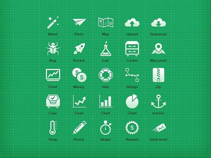 Mobile Icon Set by Damian Watracz