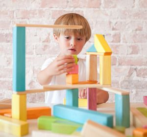 Design and create wooden structures with beautiful Tegu Magnetic Wooden Building Blocks! In a variety of colours and featuring magnets, Tegu is ready to inspire creative designs and lots of fun for young builders! Get it: http://www.mastermindtoys.com/Tegu.aspx
