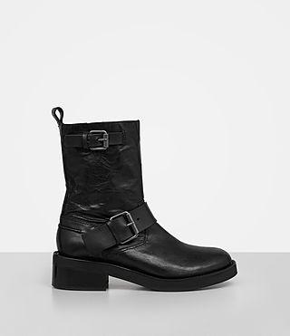 ALLSAINTS ZADIE BIKER BOOT. #allsaints #shoes #