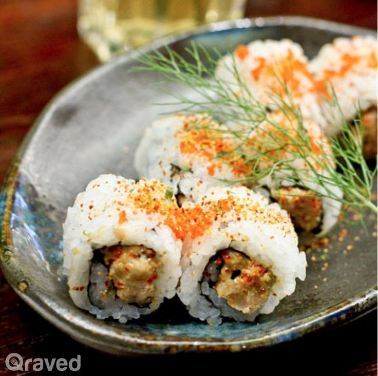 Devil Tuna Roll at Sushi Groove Grand Indonesia