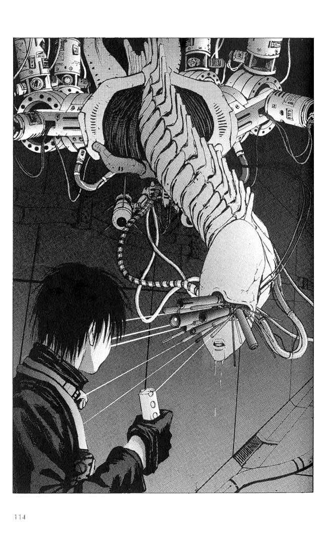 Tsutomu Nihei's Manga: Blame! (ブラム!) The Authorities 0.3