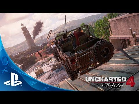 UNCHARTED 4: A Thief's End - E3 2015 Press Conference Demo | PS4 - YouTube ----- Ok, it's settled. I'm definitely getting a PS4. OMG.