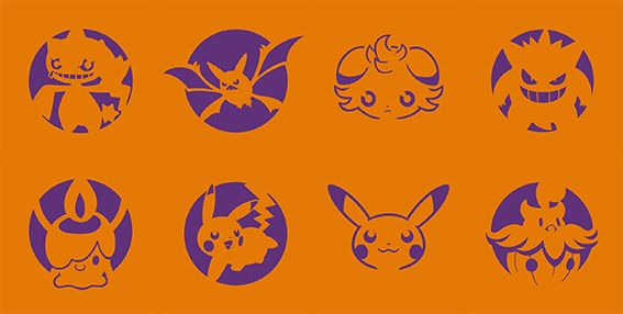 Carve With Pokémon Pumpkin Stencils This Halloween | Nintendo News