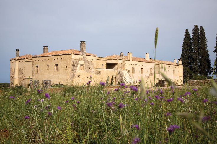 This 17th Century manor house is surrounded by 18-acres or olive groves, herb gardens and citrus orchards. Close your eyes and indulge in the scent of the mediterranean
