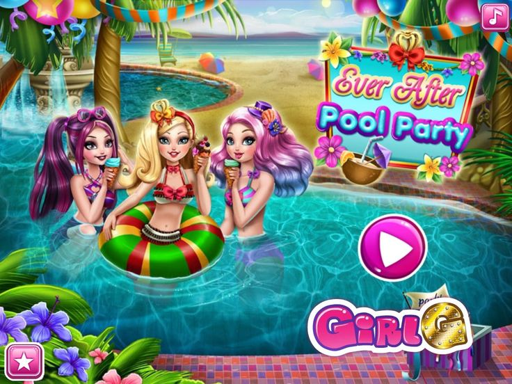 Dziewczyny z Ever After High przygotują świetną imprezę na basenie. Czy wpadniesz zabawić się razem z nimi? http://www.ubieranki.eu/gry/3745/ever-after-_-impreza-na-basenie.html