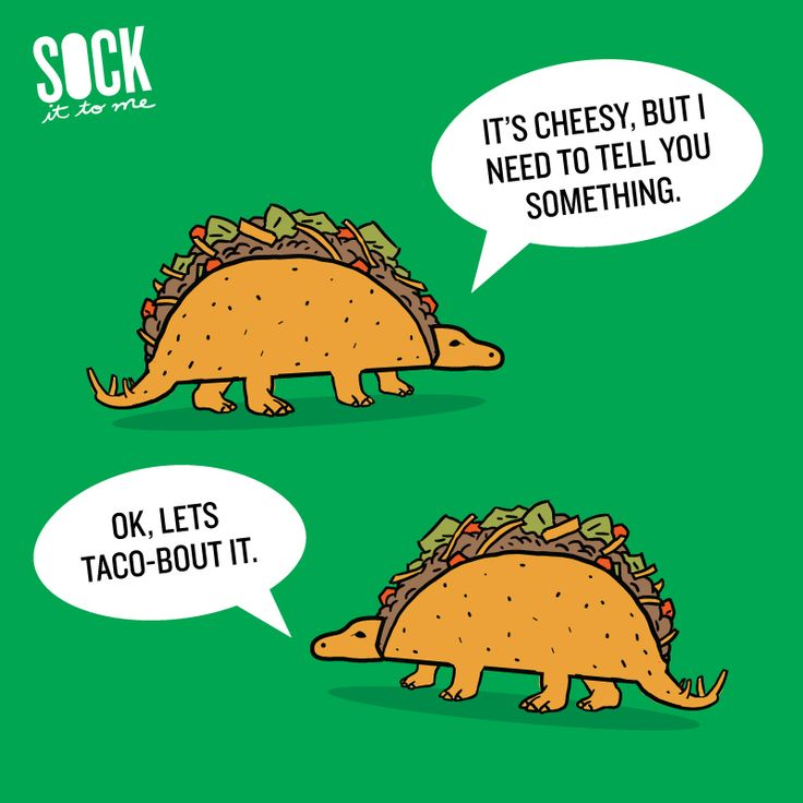 Tacosaurus Taco Puns for Funny Pun Friday #FunnyPunFriday ...