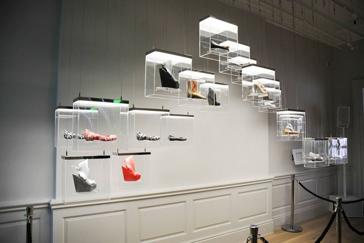Kinetic structure for Melissa by Engage Production, London – UK » Retail Design Blog