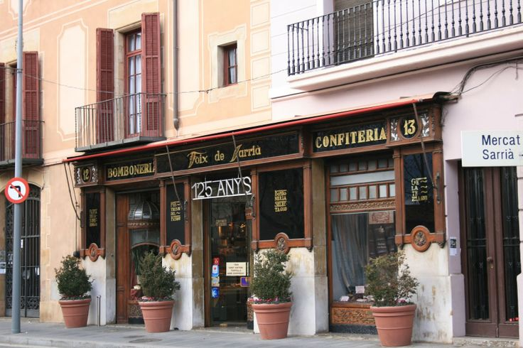 FOIX DE SARRIA. The father of famous Catalan poet J V Foix opened this shop in 1886.  Today you can find original desserts such as lime mousse.  It also has an excellent deli with canapés and sandwiches.  A truly iconic shop, Barcelona Catalonia.