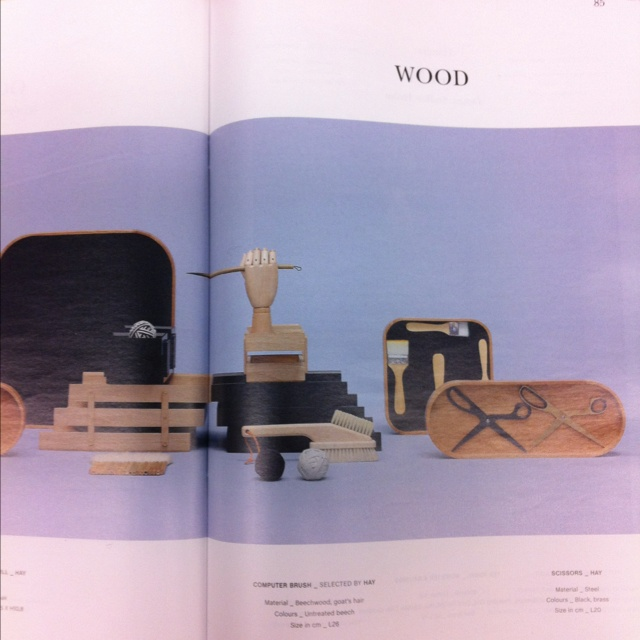 HAY catalogue and exhibiton during Maison et Objet. Two great design pieces.