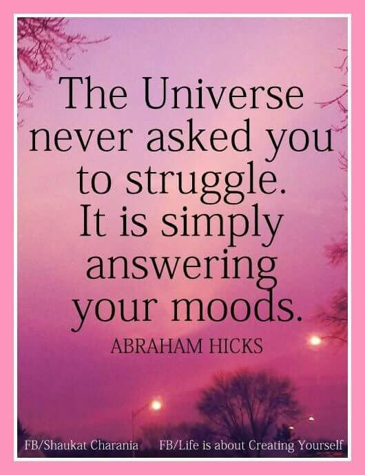 Your mood attracts circumstances into your life. Positive mood attracts positive circumstances. Remember, the Universe is simply answering your moods (emotions, feelings, inner dialoge)! By staying positive, vibrating higher and being connected to Source Energy, you`re inviting good things into your life.
