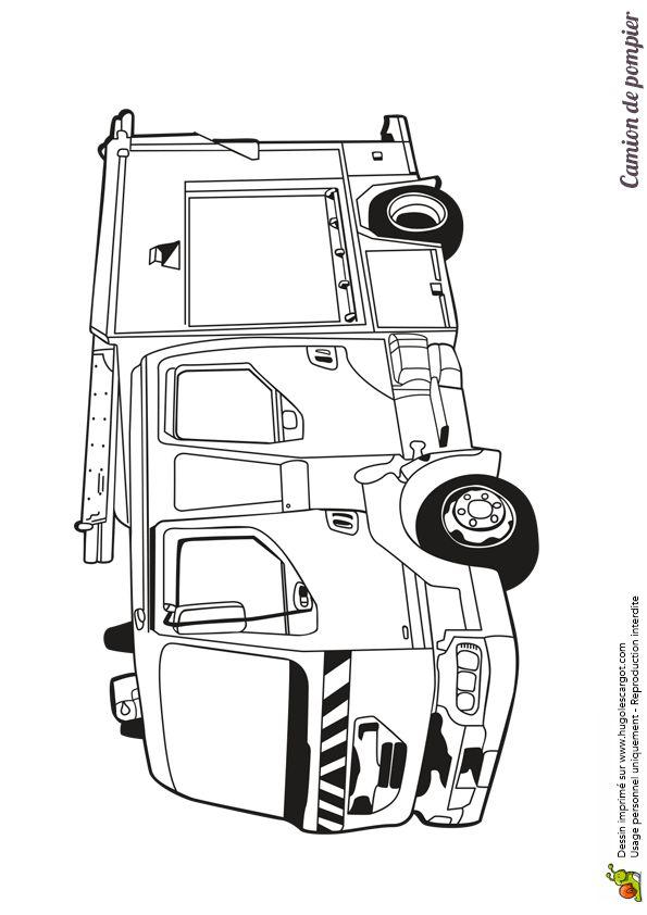 Les 25 meilleures id es de la cat gorie camion pompier sur pinterest camion de pompier jouet - Camion de pompier dessin ...