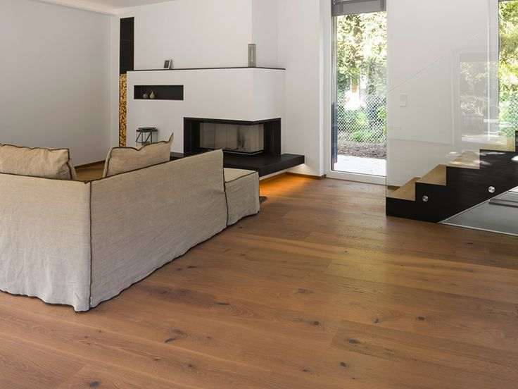 Timber Floors | Oak Country Vulcano Medium Brushed Natural Oil | Mafi Timber