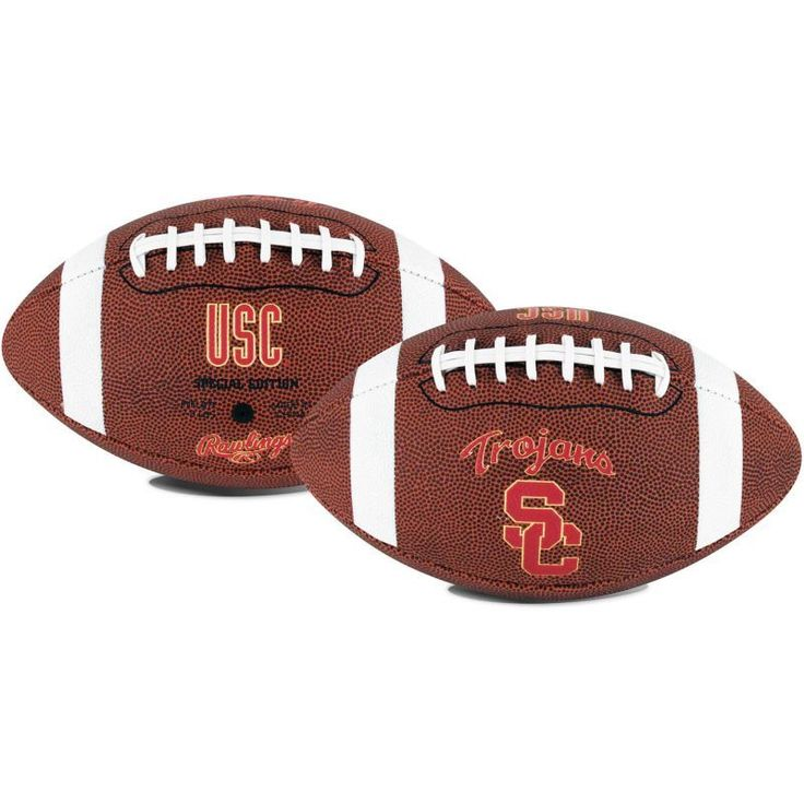 Rawlings USC Trojans Game Time Full-Size Football, Team