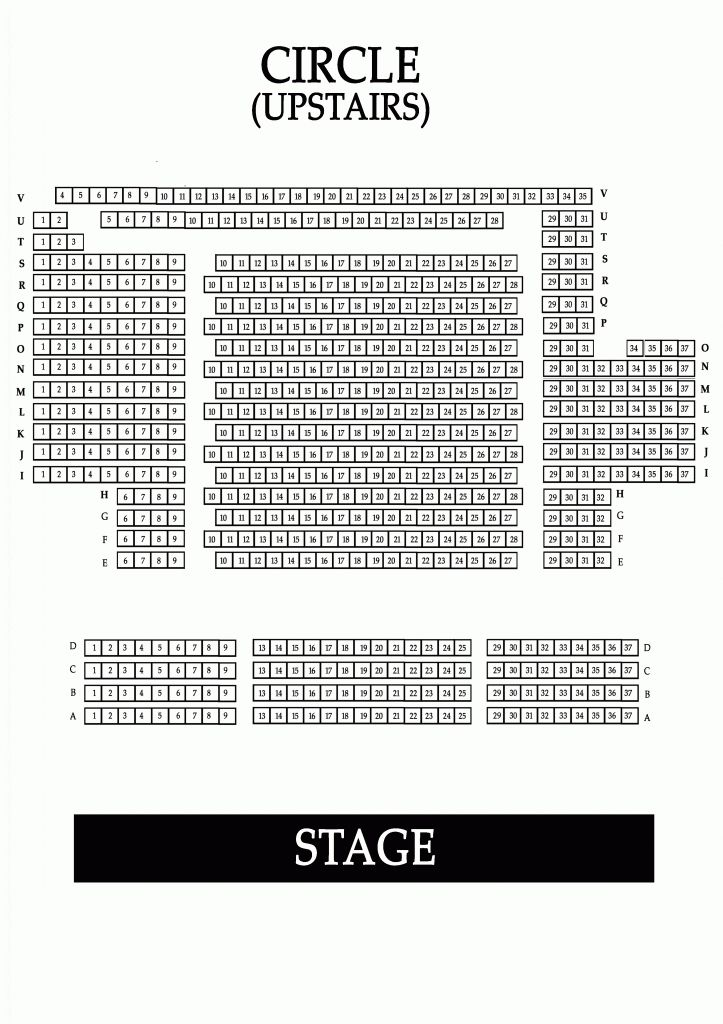 The Most Elegant And Attractive Regent Theatre Seating Plan