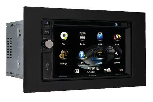 Jensen DMX5020 2DIN 6.2-inch Digital Media Receiver with Built-In Bluetooth