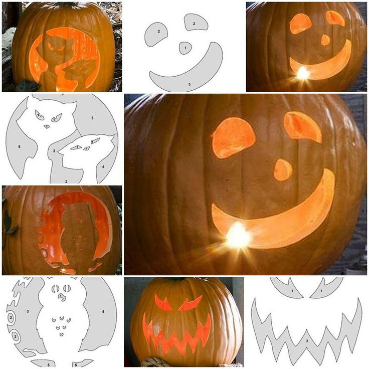 How to make pumpkin carving patterns diy tutorial for Pumpkin sculpting tutorial
