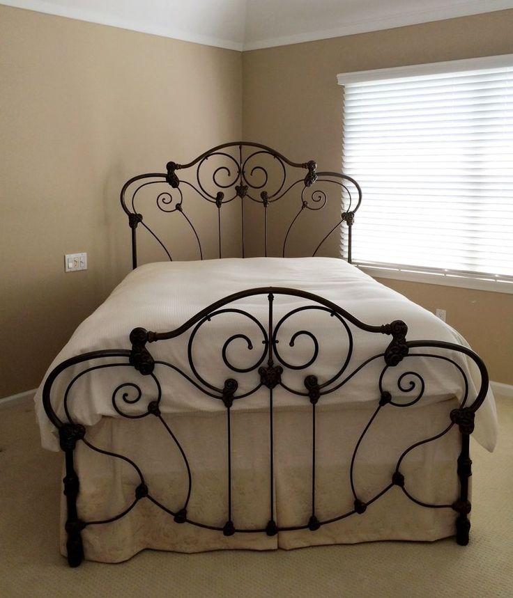 Mejores 258 imágenes de camas en Pinterest | Camas de hierro forjado ...