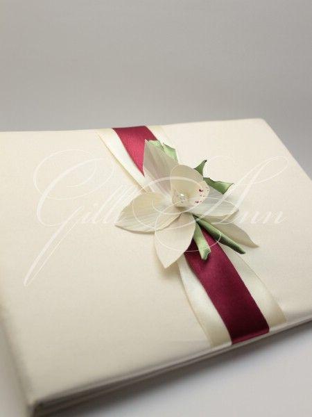 Книга пожеланий Gilliann Orchidea AST039 #guestbook #wedding guestbook