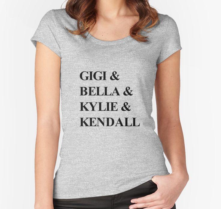 Gigi & Bella & Kylie & Kendall by typogracat  gigi hadid | bella hadid | kylie jenner | kendall jenner