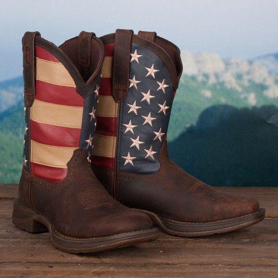 866e9e6efef Durango Flag Boot