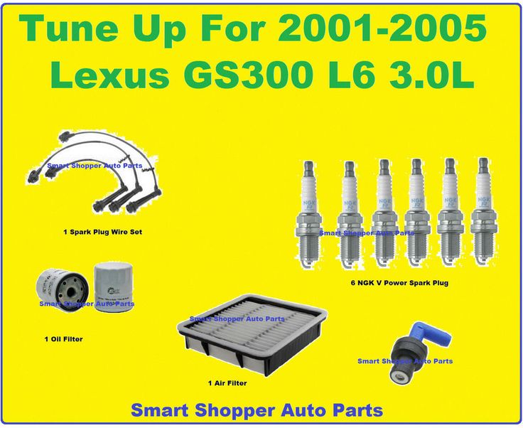 17 best images about feeling confidence on the road tune up 2001 2005 lexus gs300 l6 spark plug wire set air oil filter