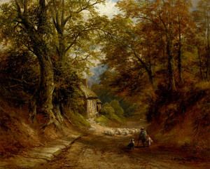 The Old Cottage, Littleover Lane  George Turner