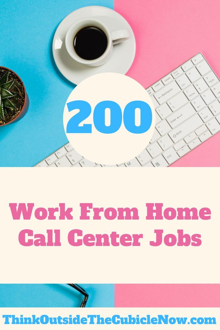 200 Work From Home Call Center Jobs Call Center Work From Home