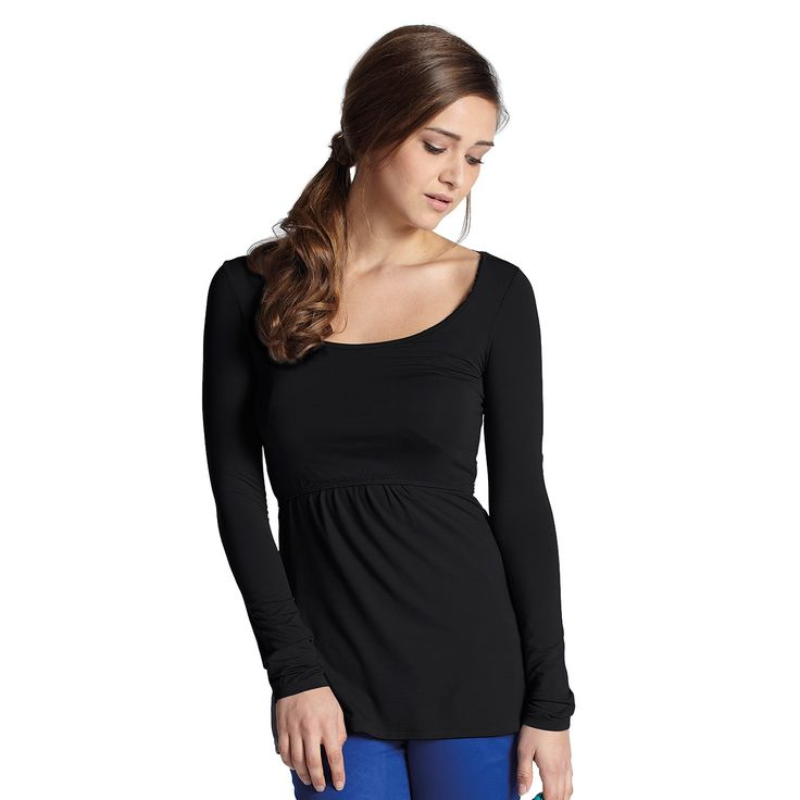 For when only a wide neckline will do! Organic cotton breastfeeding essentials for winter... now in store! Get any 3 for the price of 2!  Must Have Wide Neck Long Sleeve Breastfeeding Top - Milk and Love