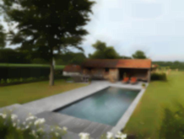Rustiek Zwembad - Een zwembad in rustieke stijl past in elke tuin.