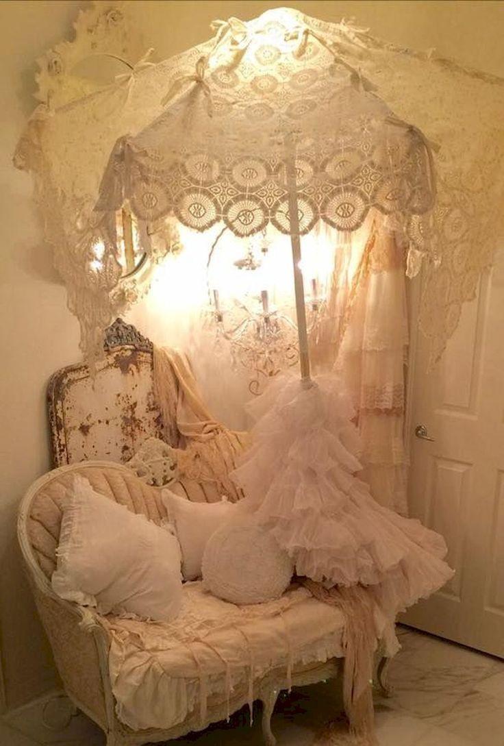 55 Shabby Chic Bedroom Remodel Decor Ideas