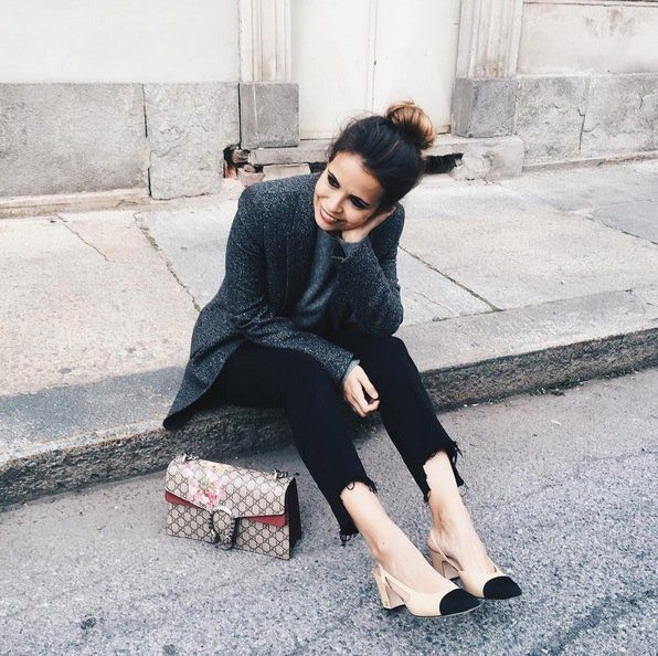 Son los zapatos de la temporada, los firma @CHANEL y se llevan así https://t.co/9kLodwRAAT