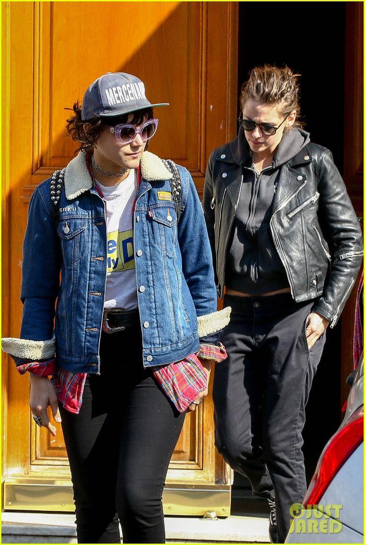 Kristen Stewart & Rumored Girlfriend Soko Visit Paris Dentist