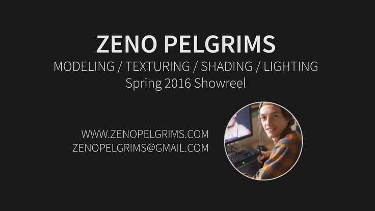 Zeno Pelgrims - Showreel Spring 2016 on Vimeo