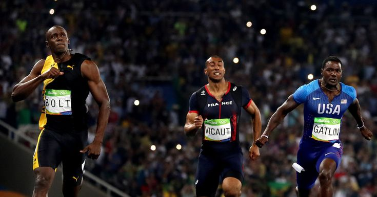 Sports of The Times: Usain Bolt's Showdown With Justin Gatlin Carries a Sense of History Passing