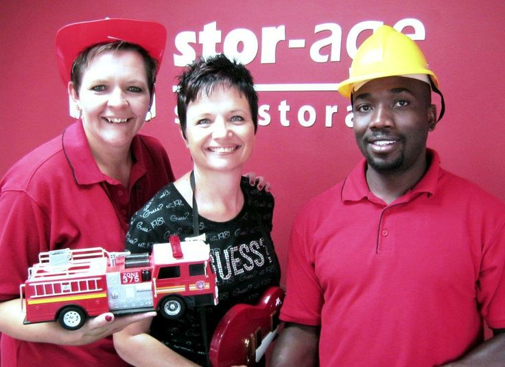 "We had a special donation at Stor-Age Boksburg, explains Store Manager Bernice Human, ""An Angel called me on Wednesday by the name of Samantha Rice and offered to give us all the toys her children no longer needed."