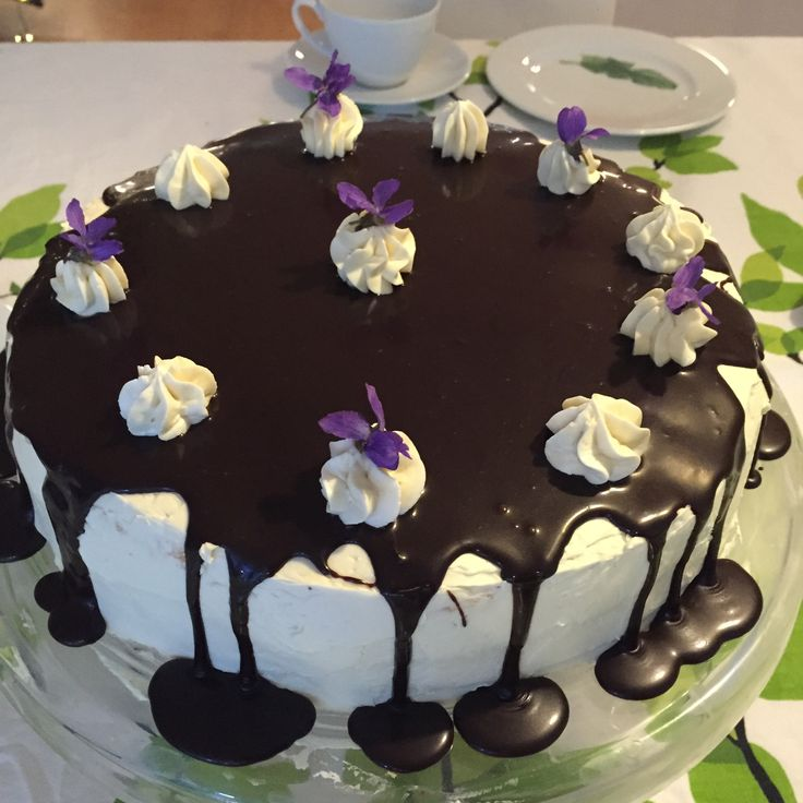 salted caramel mocha cake