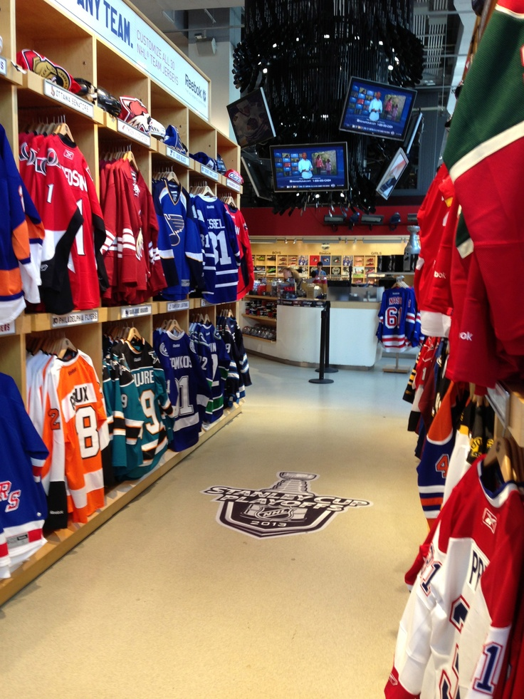 NHL jerseys everywhere... | NHL Store