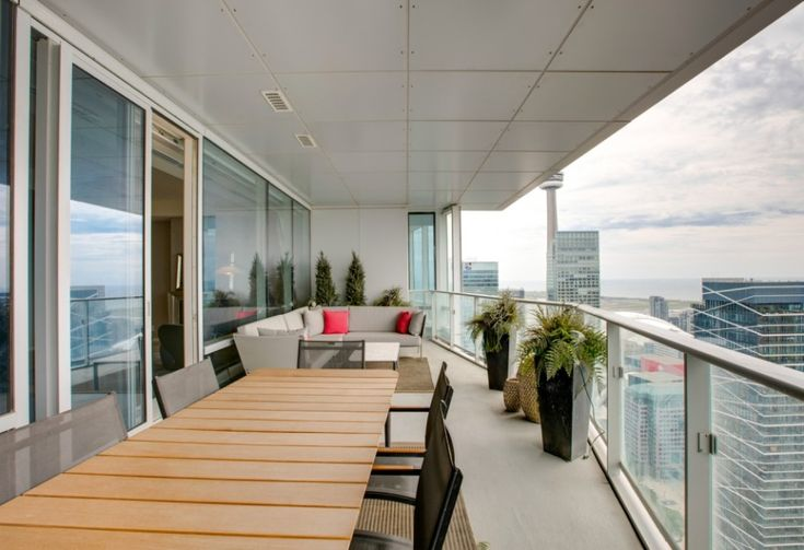 Condo Balcony Design - Shangri-La Toronto