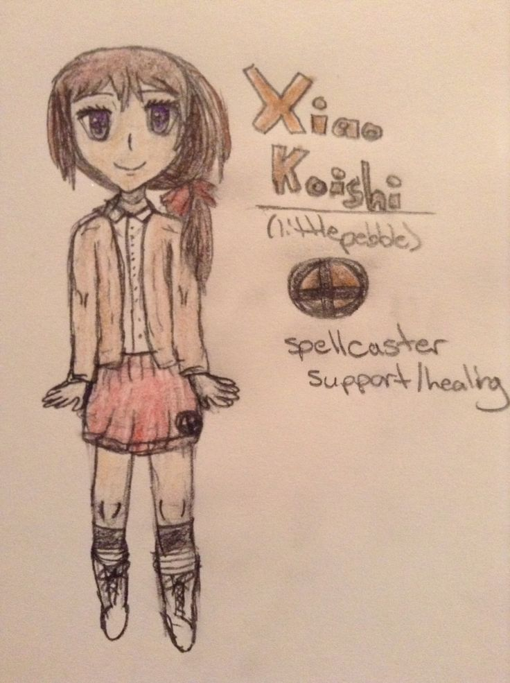Xiao Koishi, the earth mage from my manga Elementals. She's the half sister of Folla and she's shipped with Brise whom i have yet to redraw. She uses healing and support magic, but she also uses spellcasting (like Wendy from Fairy Tail). She's rather shy but she's very intelligent. Repin with credit