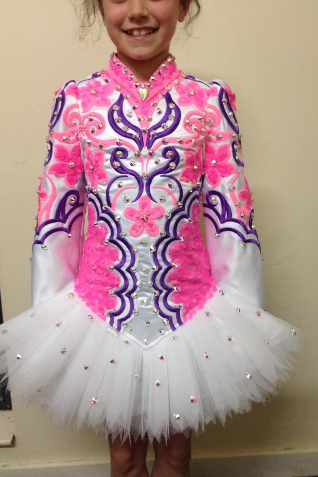 irish dance solo dress by taylor - Irish Dancer Halloween Costume