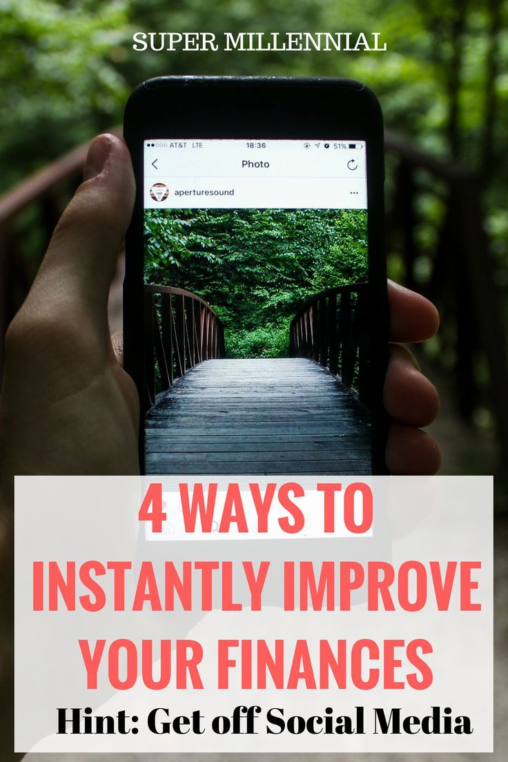 Four ways to Improve Your Finances quickly! Instead of spending another 15 minutes on Instagram take these steps to improve your finances. Use Personal Capital to track your accounts, increase your 401K contributions, open a Roth IRA and automate your bills.