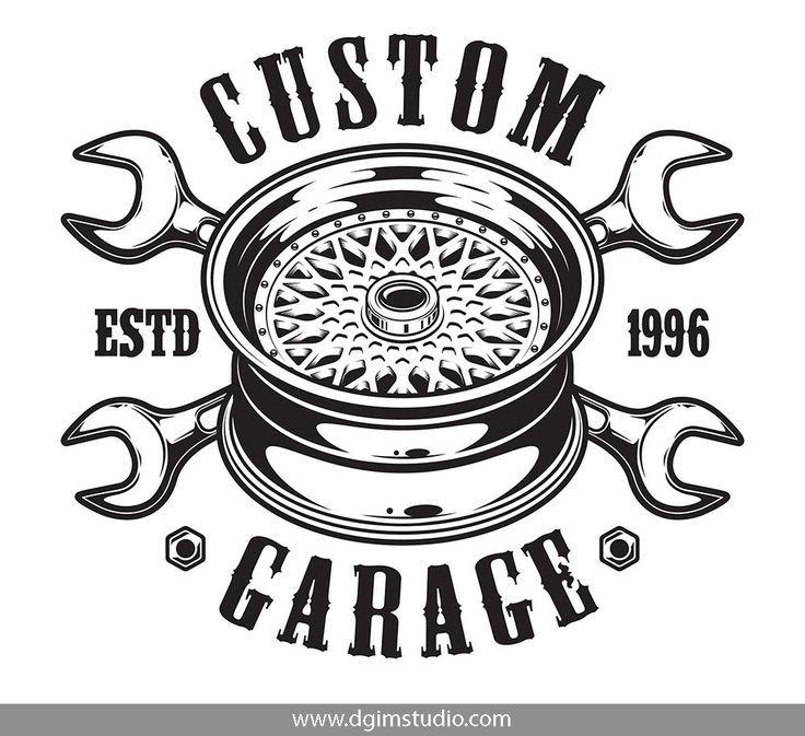Car Service Garage Logo Motorcycles Logo Design Car Repair Service