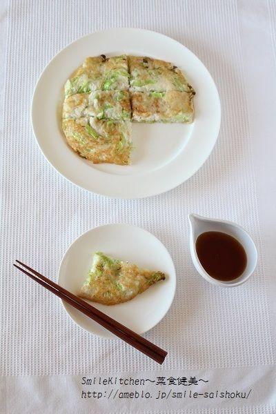 レシピ【老化防止に期待!!外サク中もっちり♪大和芋のお好み焼き風 ...