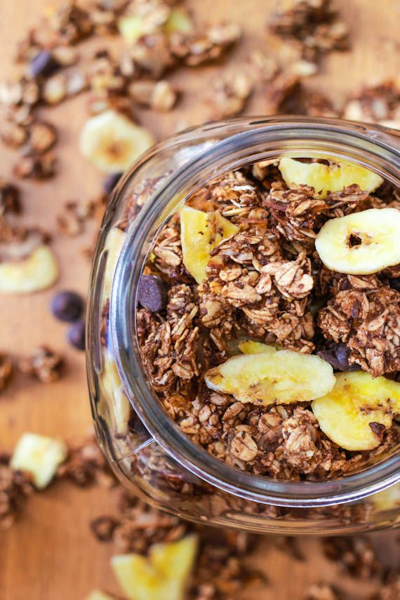 I have a jar of chocolate pb that I want to try with this...but sounds soo tasty.Granola Recipe