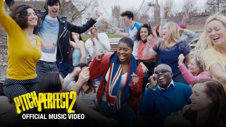 "Pin for Later: 35 Songs You Heard in Pitch Perfect 2 ""Crazy Youngsters""  Original artist: Ester Dean Who sings it in the movie: Ester Dean, during the credits"