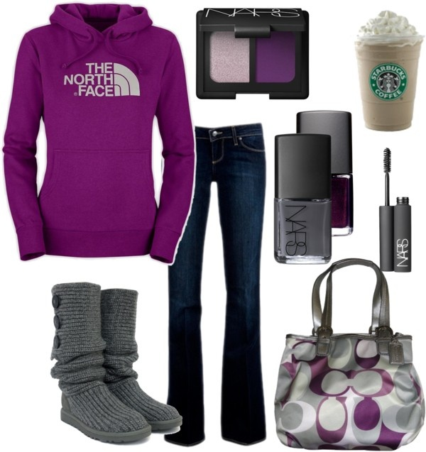 ! i can see this as a day of shopping outfit !!!: Ugg, North Faces, Style, Dream Closet, Coach Purses, Fall Outfit, Fall Winter, Northface