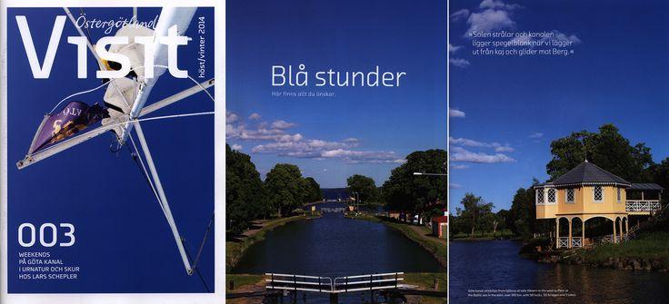 https://flic.kr/p/EGZhzZ   Visit Östergötland; höst vinter 2014, Sweden   tourism travel brochure   by worldtravellib World Travel library