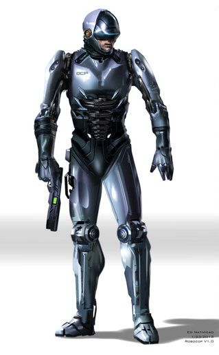 Robocop concept art by Ed Natividad