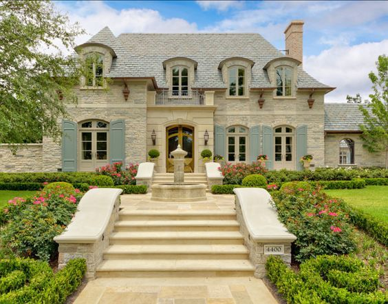 100 French Country Home Exterior Design Ideas With Pictures